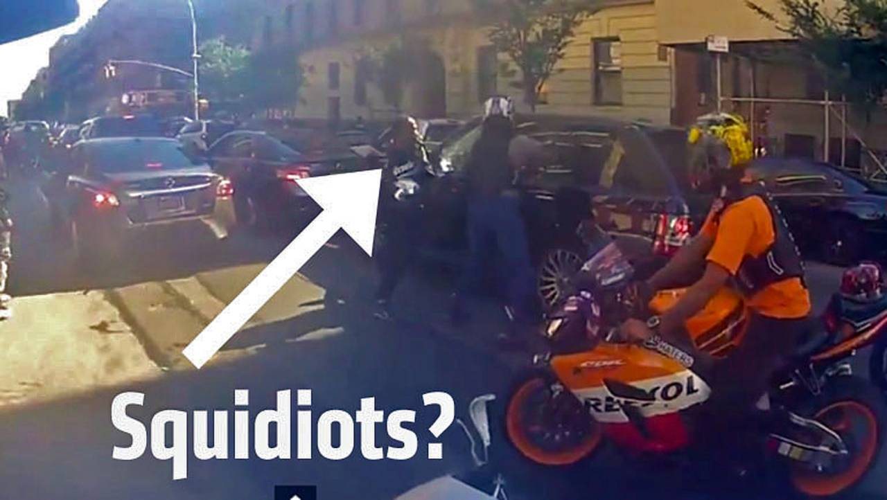 Why the Range Rover-Chasing New York Bikers Look Like Idiots
