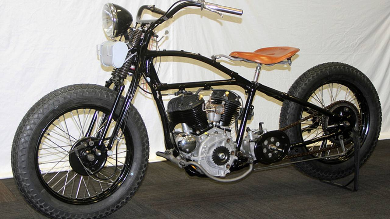 Rebirth of an American Classic: 1933 Harley-Davidson VL