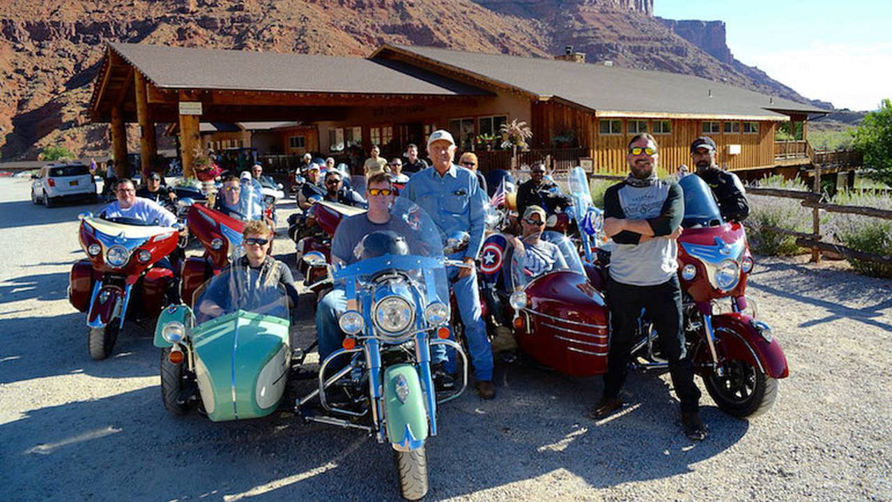 Indian Gearing Up For Veterans Charity Ride to Sturgis