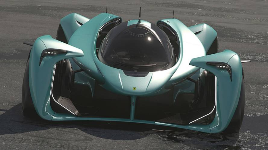 Ferrari 413 Render Imagines An Outrageous Hypercar Of The Future