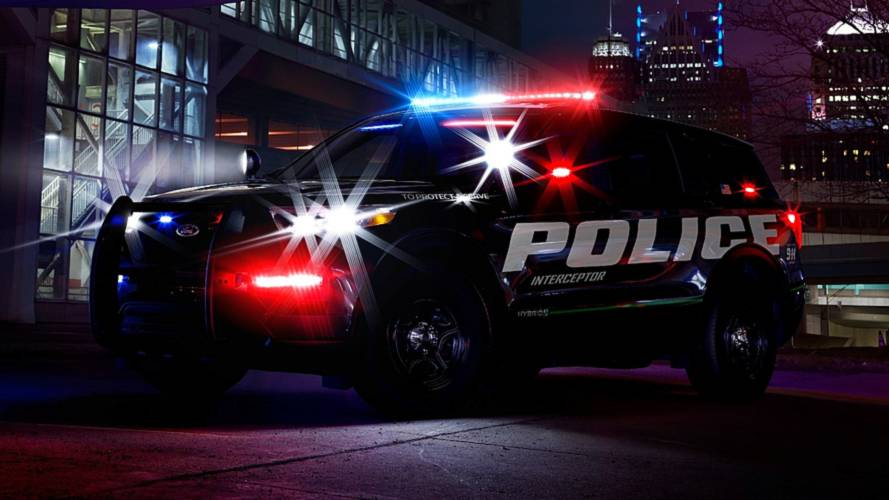 Ford's Hybrid Police Interceptor Offers Glimpse Of All-New Explorer
