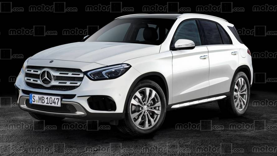 2019 Mercedes GLE Ditches Camo In New Rendering