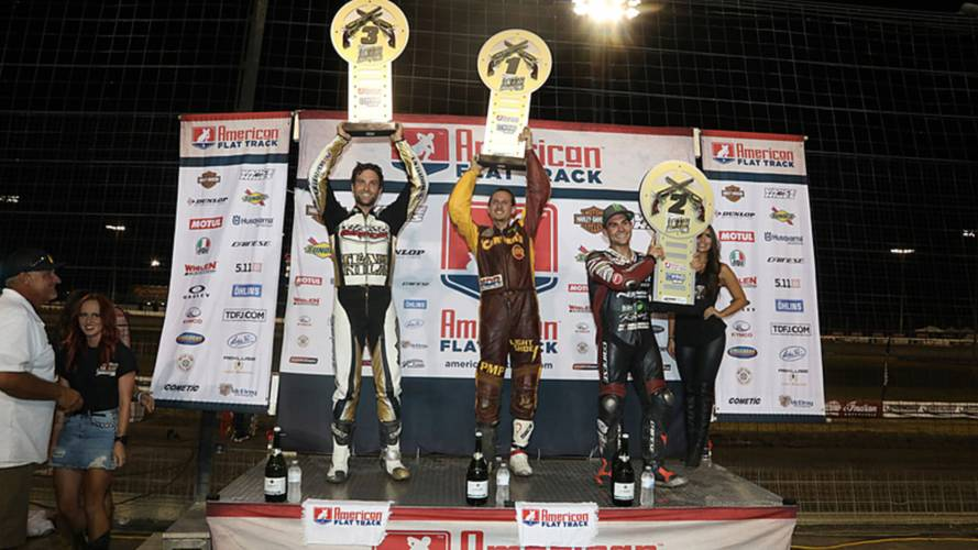 PA Privateer Takes Flat Track Podium on Stock Indian FTR750