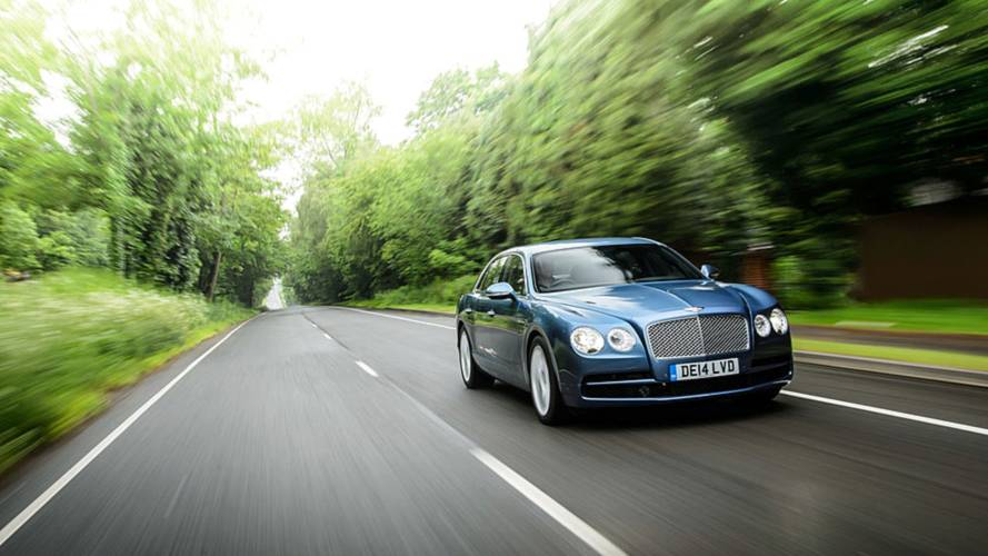 Drive Like a Boss. The Bentley Flying Spur V8