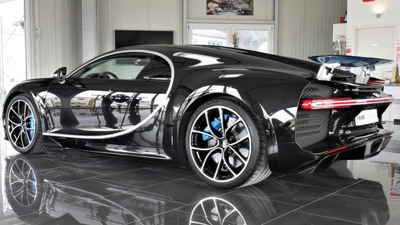 2017 Bugatti Chiron - $4.54 million