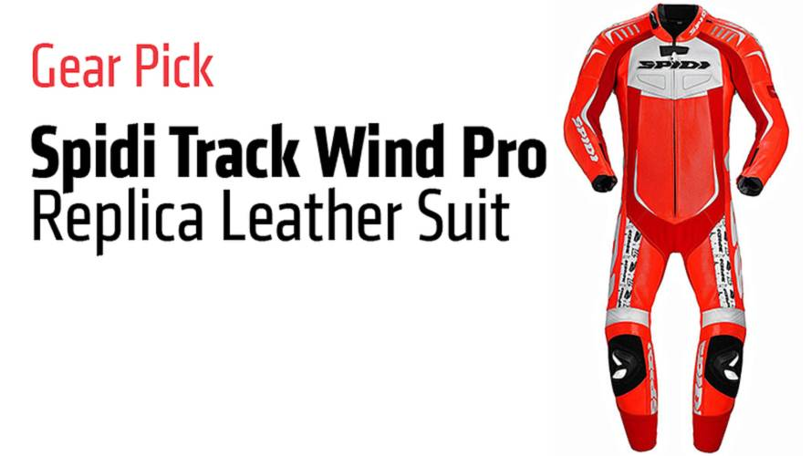 Gear Pick: Spidi Track Wind Pro Replica Leather Suit