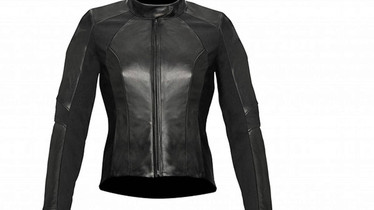 Finally, a leather suit designed for ladies