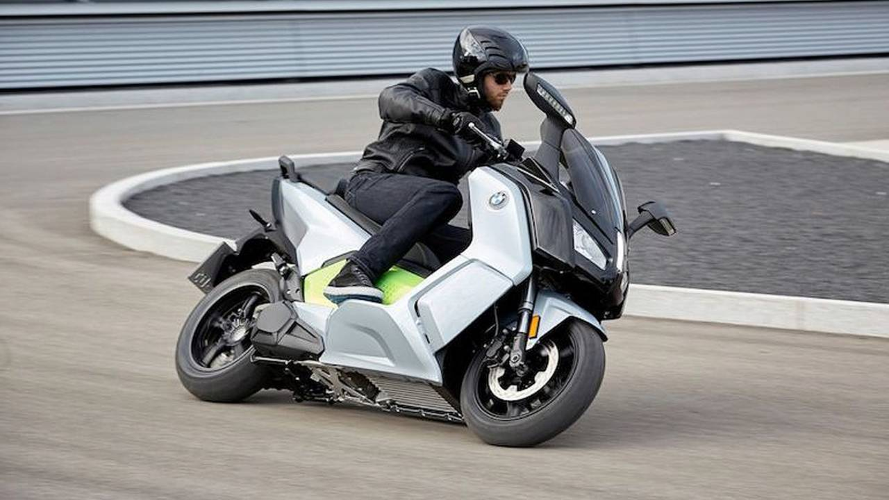 BMW C Evolution Electric Scooter Comes to US