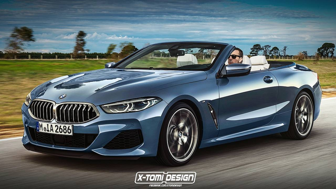BMW 8 Series Convertible rendering