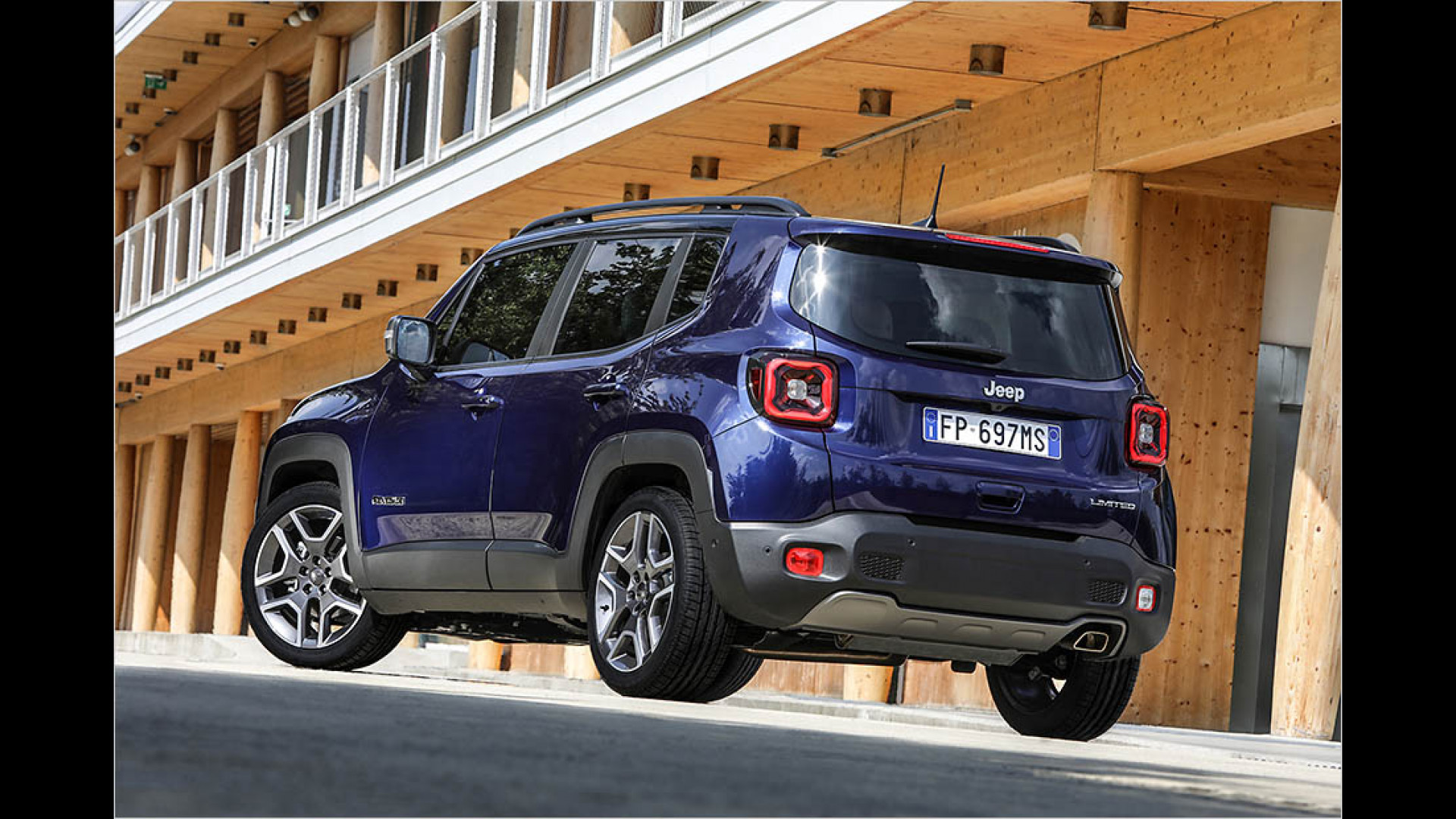 Gelifteter Jeep Renegade Im Test