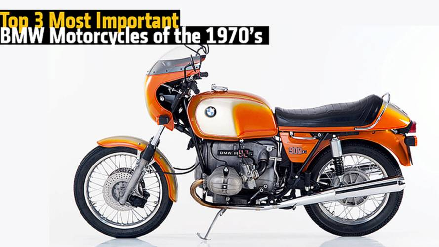 Top 3 Most Important BMW Motorcycles of the 1970s