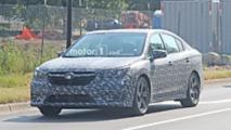 Yeni Nesil Subaru Legacy Casus Fotoğraflar