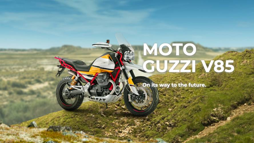 New Moto Guzzi V85 Adventure Bike Going to Production