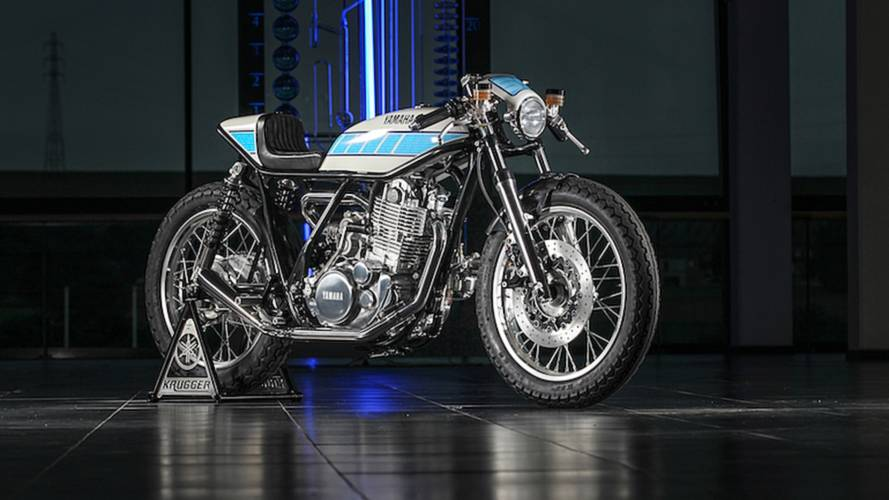 Yard Built Yamaha SR400 Honors MotoGP
