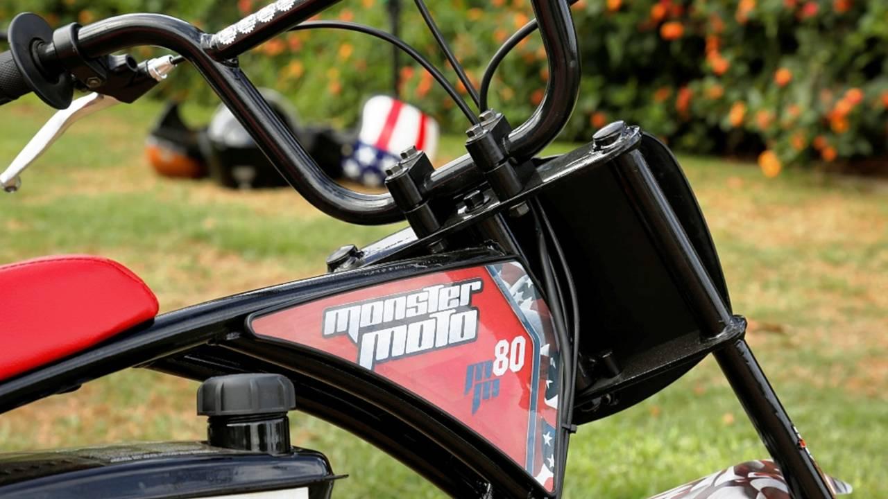Monster Moto Classic Mini Bike - Ride Review