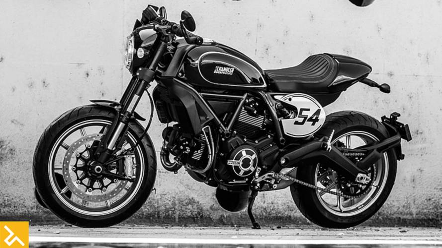 Ducati Cafe Racer Retro Cool Roadster