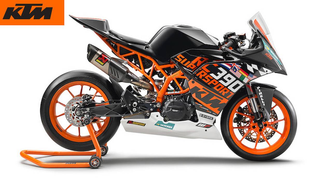 KTM Unveils RC 390 R for 2018