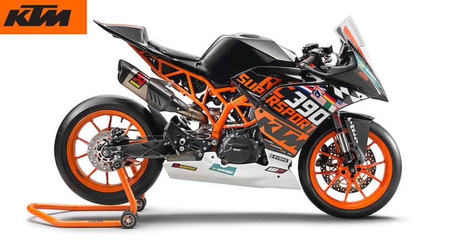 KTM Unveils RC 390 R for 2018