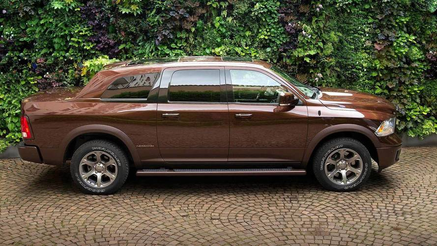 Italian Shop Transforms Ram 1500 Into Ultra-Opulent SUV