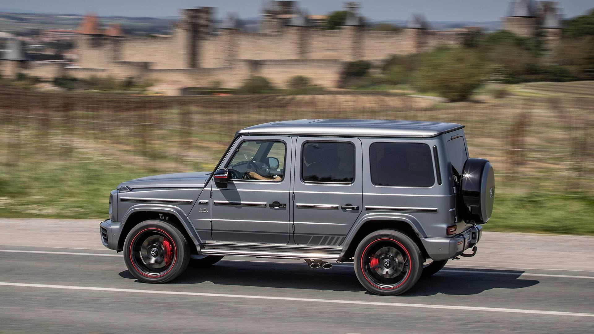 2018 Mercedes Amg G63 First Drive Military Suv With Supercar Swagger