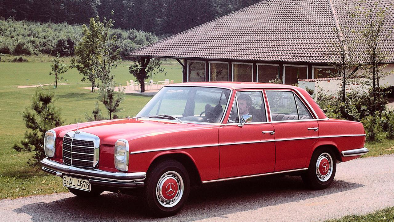 """Mercedes 200 bis 250 (1968): """"Strich-Acht"""""""