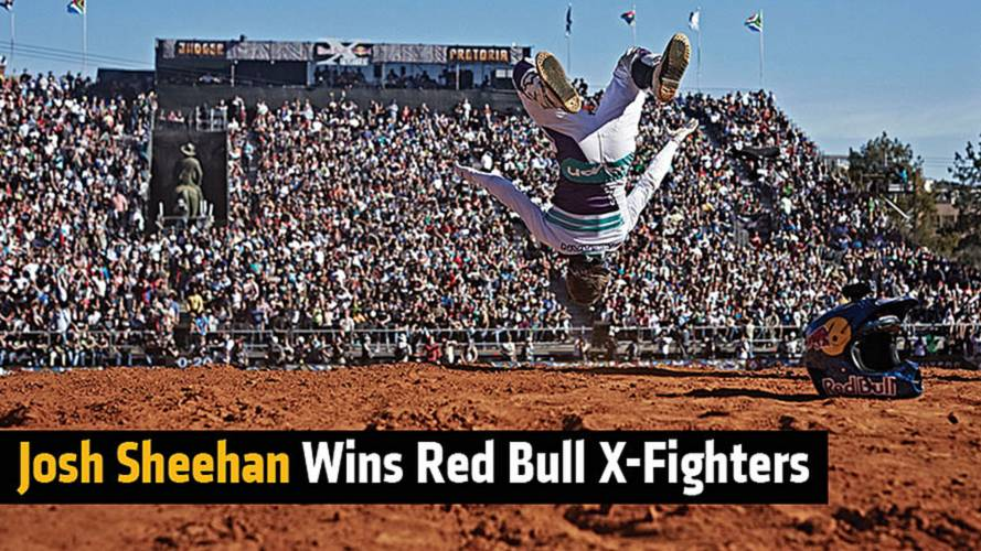 Josh Sheehan Wins Red Bull X-Fighters