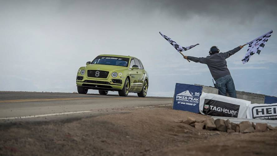 Bentley Bentayga Smashes Pikes Peak SUV Record