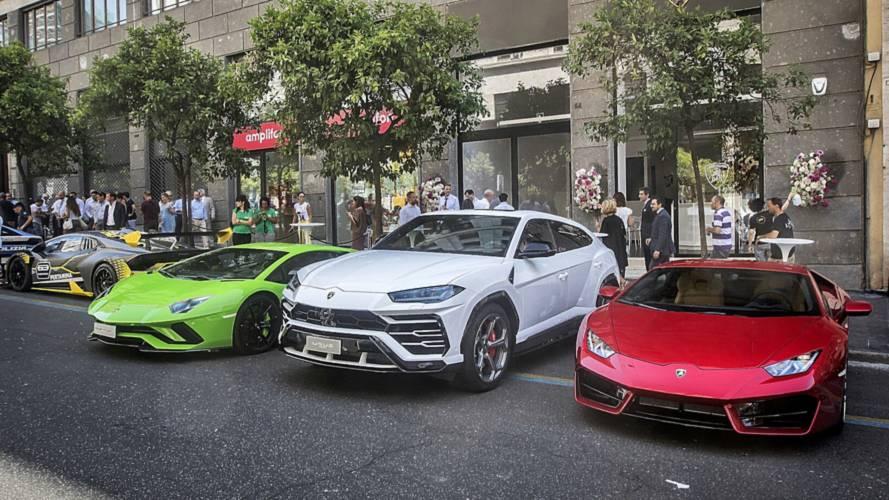 Lamborghini sbarca a Roma