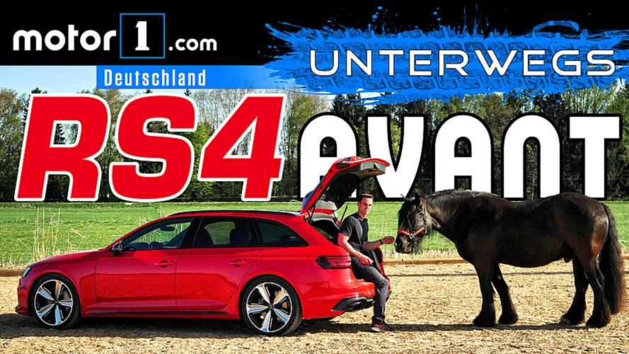 Der 100.000-Euro-Kombi: Audi RS4 Avant | UNTERWEGS mit Daniel Hohmeyer