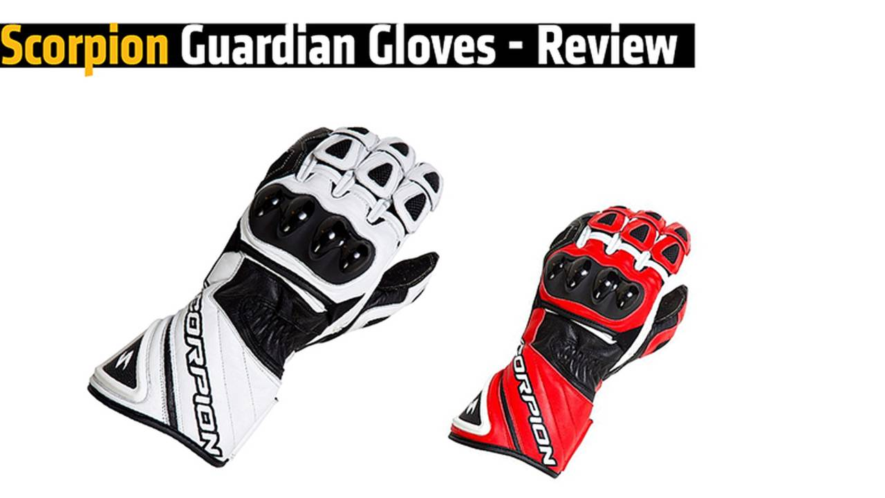 Scorpion Guardian Gloves - Review