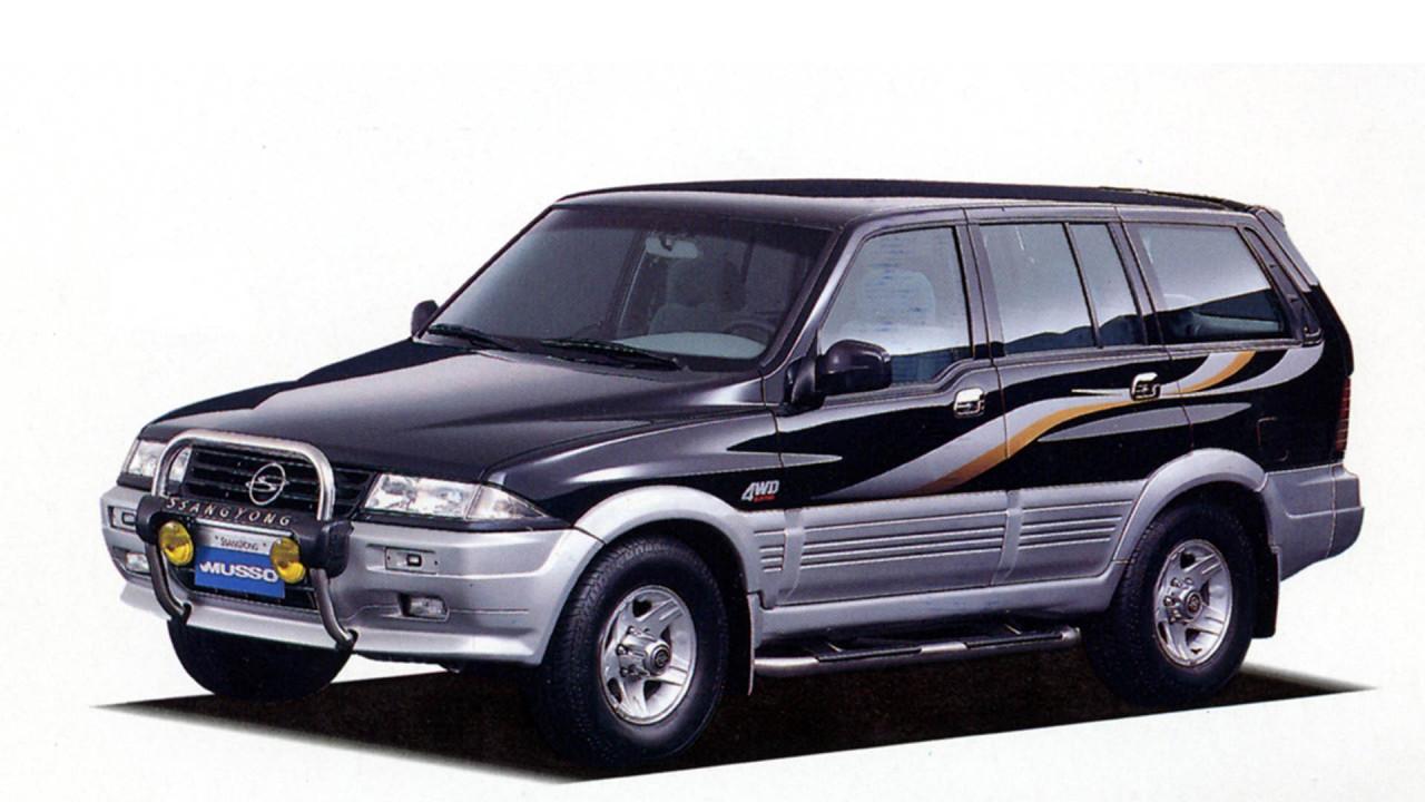 SsangYong Musso: Mercedes