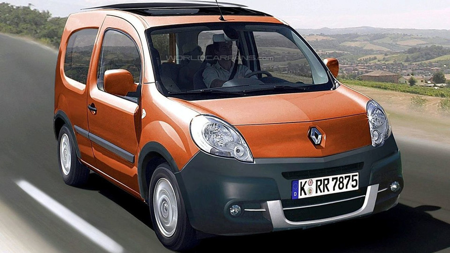 3-Door Renault Kangoo Spotted