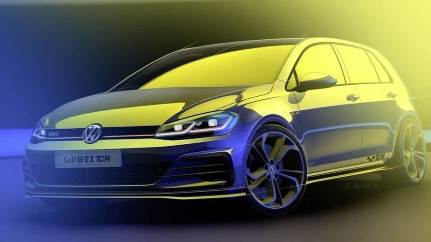 VW Golf GTI TCR road car teaser