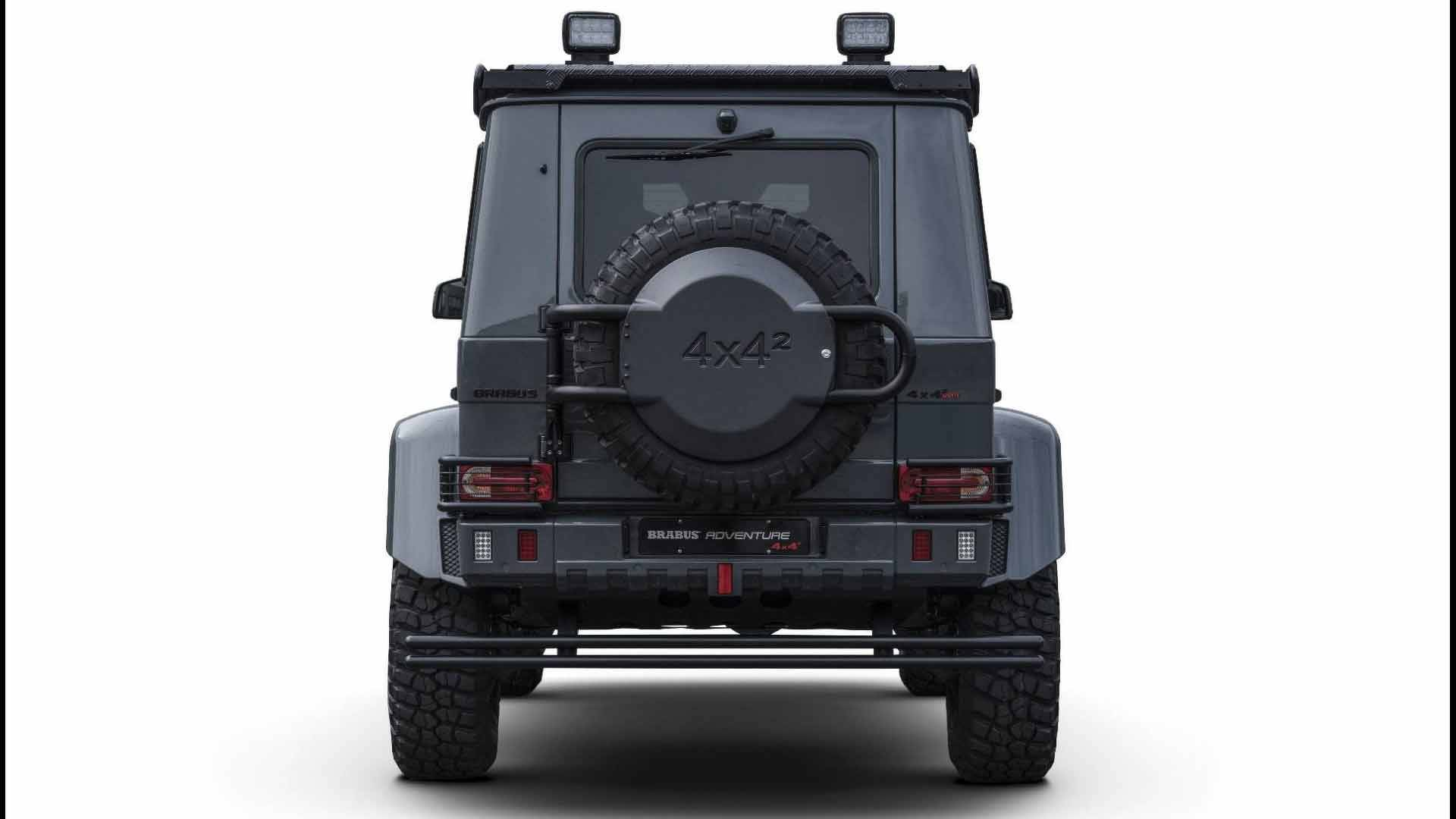 G Wagon 4x4 Price >> Brabus Adventure 4X4 Proves The Old Mercedes G-Class Is ...
