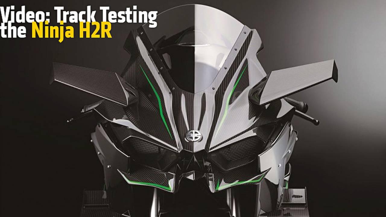 Video: Track Testing the Ninja H2R