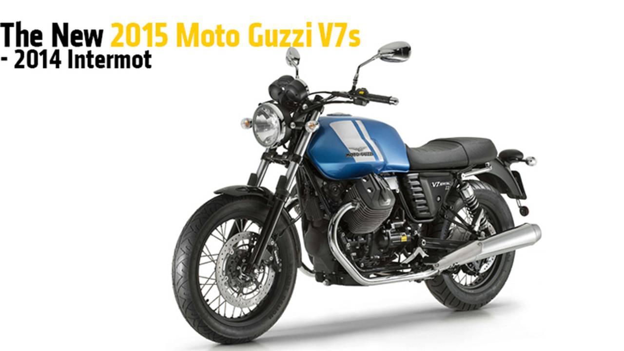 The New 2015 Moto Guzzi V7s - Intermot 2014
