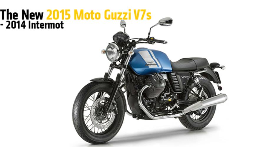 The New 2015 Moto Guzzi V7s - Intermot 2014