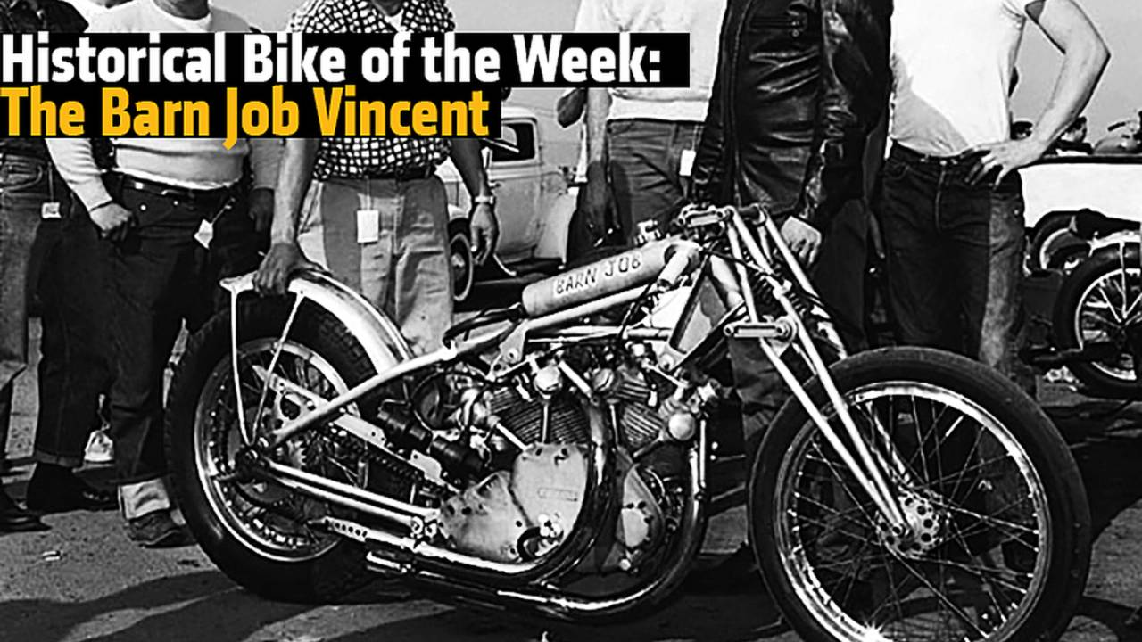 Historical Bike of the Week: The Barn Job Vincent