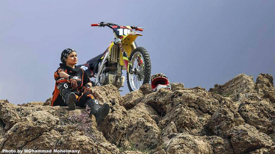 Iranian Female Motorcycle Racer to Stage Event