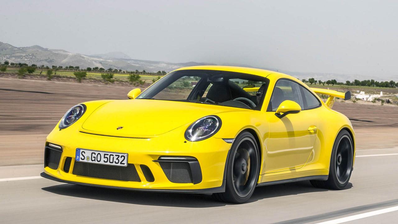 Platz 10: Porsche 911 GT3