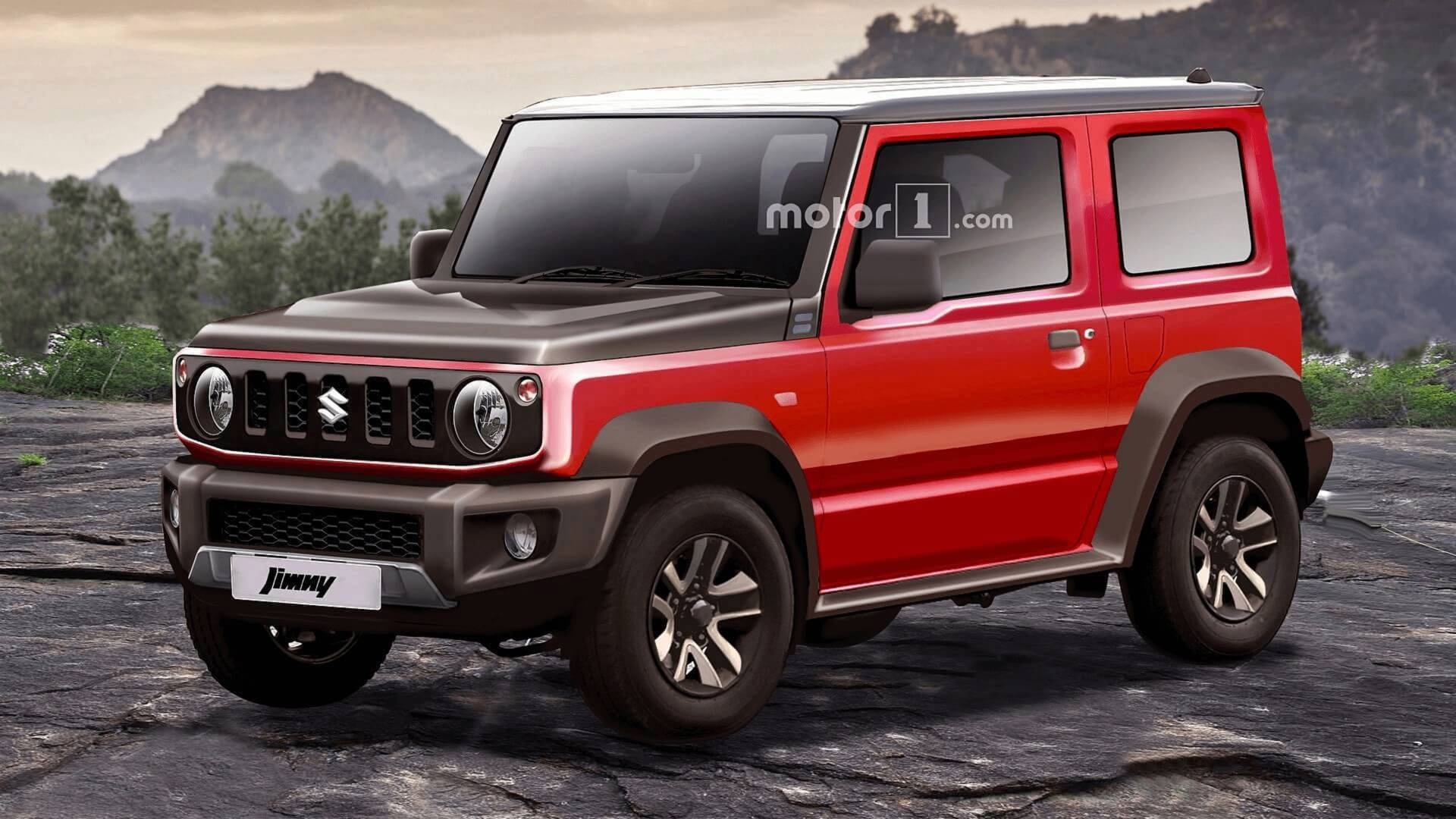 2019 Suzuki Jimny: News, Design, Release >> 2019 Suzuki Jimny Rendering Predicts The Obvious