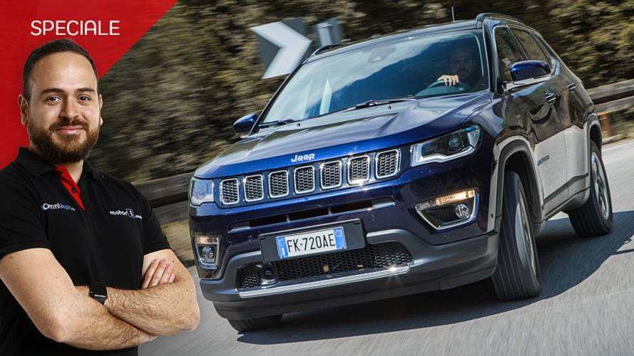 Jeep Compass 1.6 Multijet Limited, la prova a 360°
