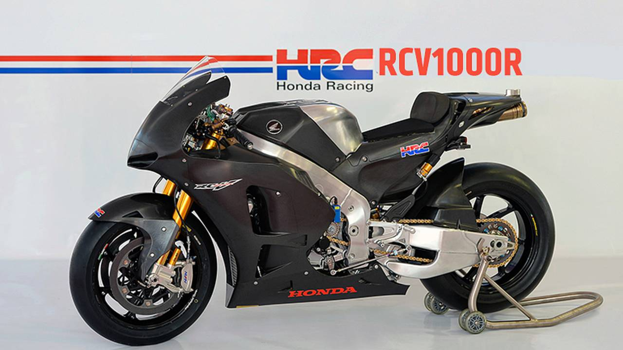 First Look: 2014 Honda RCV1000R - Production MotoGP Racer