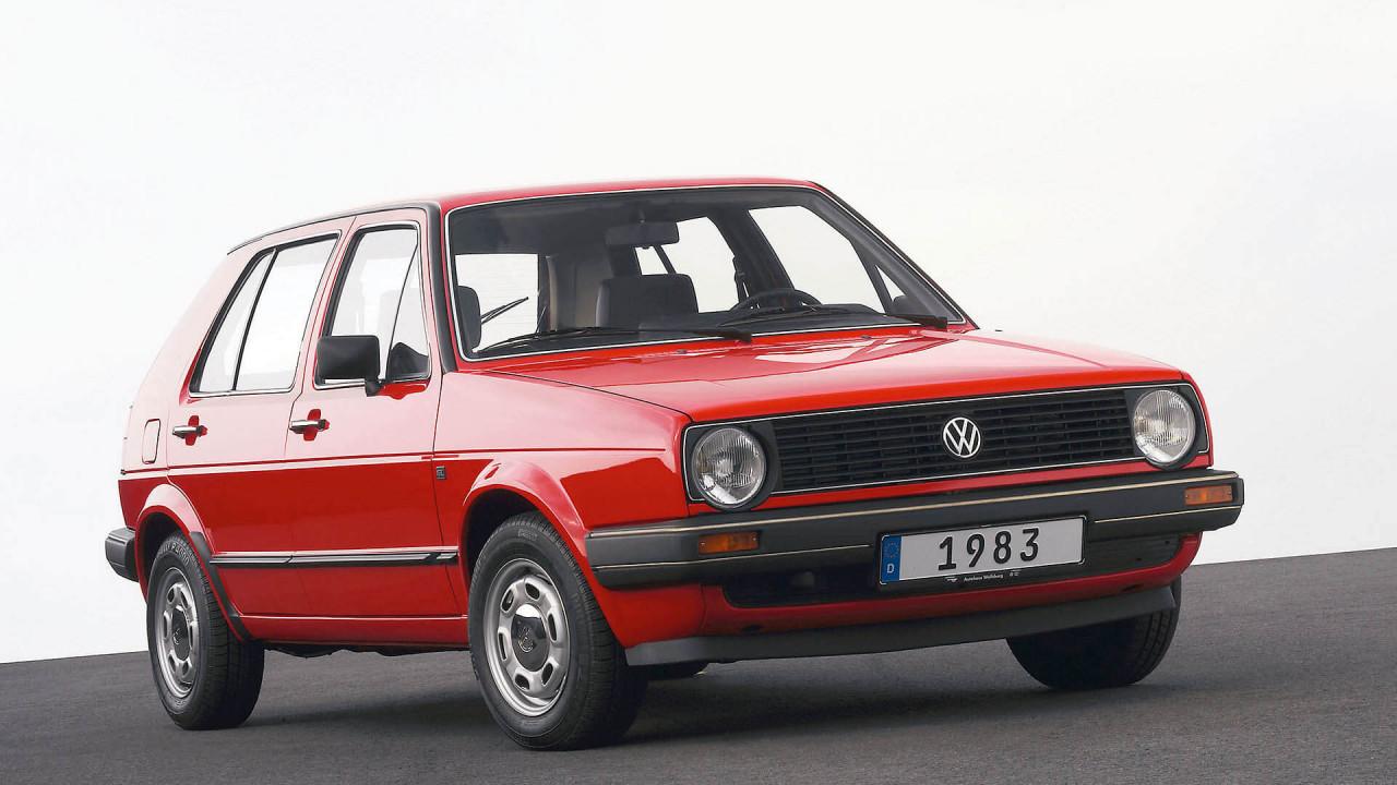 35 Jahre VW Golf II
