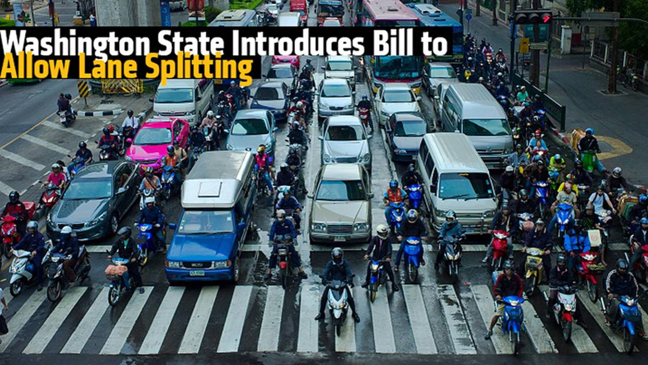 Washington State Introduces Bill to Allow Lane Splitting