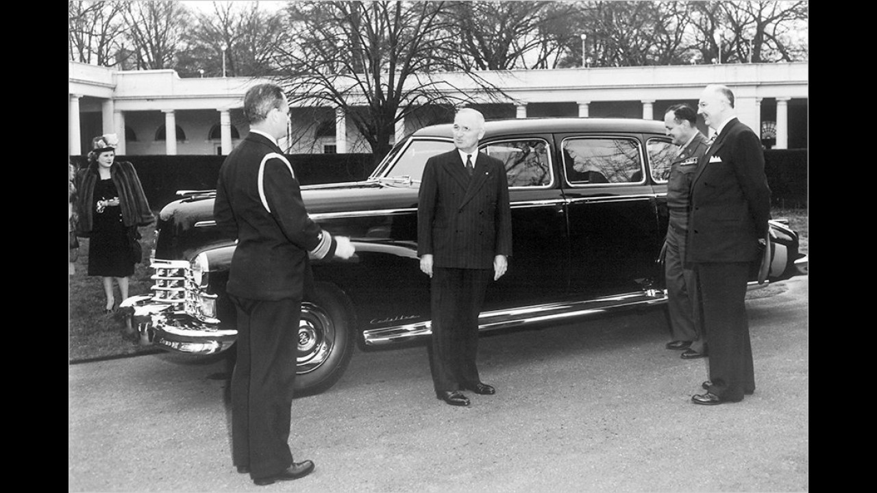 Harry S. Truman: Cadillac Fleetwood Series 75 (1947)