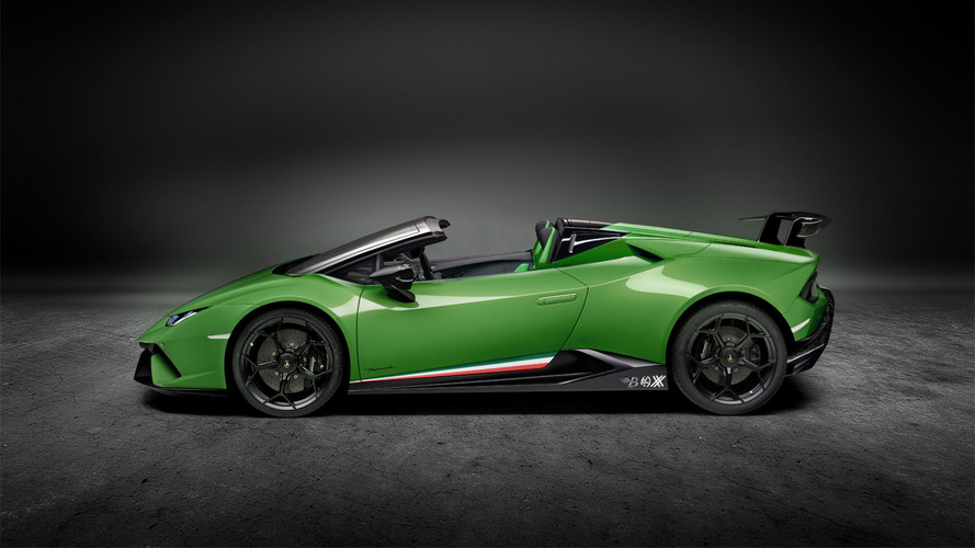 Lamborghini Huracan Performante Spyder'a makul tasarım yorumu