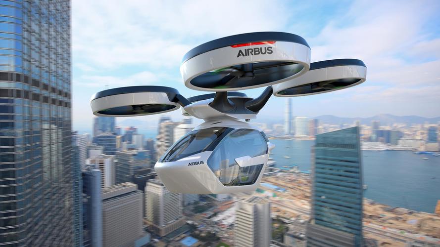 Italdesign ve Airbus'ın geliştirdiği Pop Up konsepti hem havada, hem karada gidebiliyor