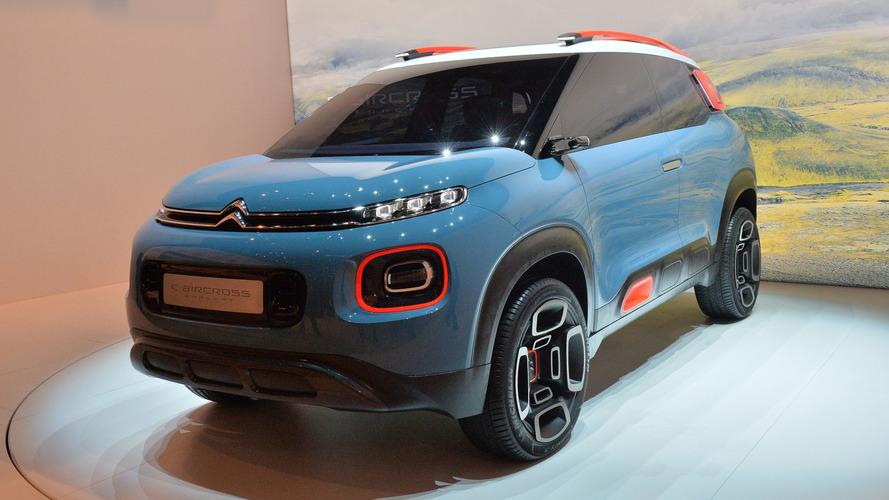 Prévia do próximo AirCross, Citroën C-Aircross Concept aparece ao vivo