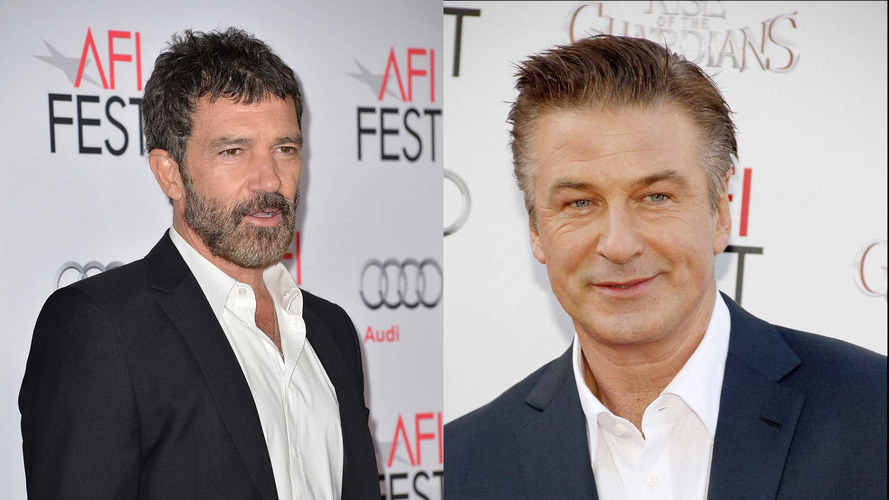 Banderas, Baldwin Starring In Lamborghini and Ferrari Biopic